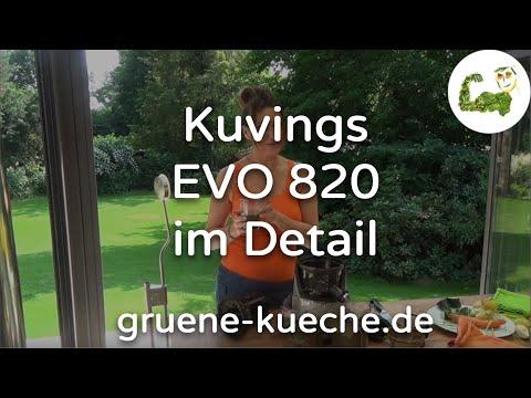 Kuvings EVO 820 Slow Juicer im Test