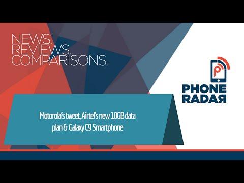 PhoneRadar Talk: Motorola's tweet about Always On Display, Airtel's new 10GB data plan & Galaxy C9