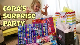🎉CORA'S SURPRISE BIRTHDAY / FAIL & OPENING PRESENTS