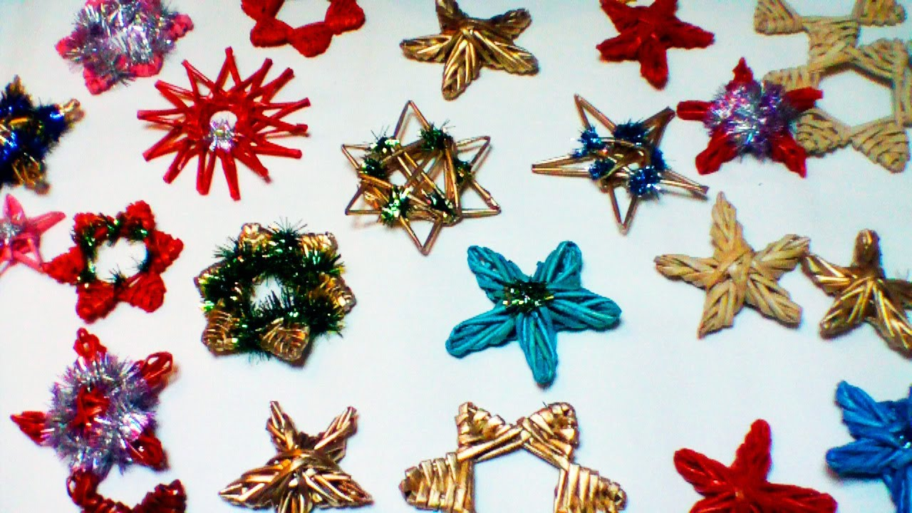 paper decorations for a christmas tree part 2 youtube - Paper Christmas Tree Decorations