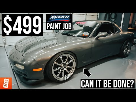 TURNING A $499 MAACO PAINT JOB INTO A $3,000 PAINT JOB!!! (for Under $100!)