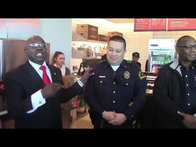 Councilman Atkins: Chipotle's Grand Opening