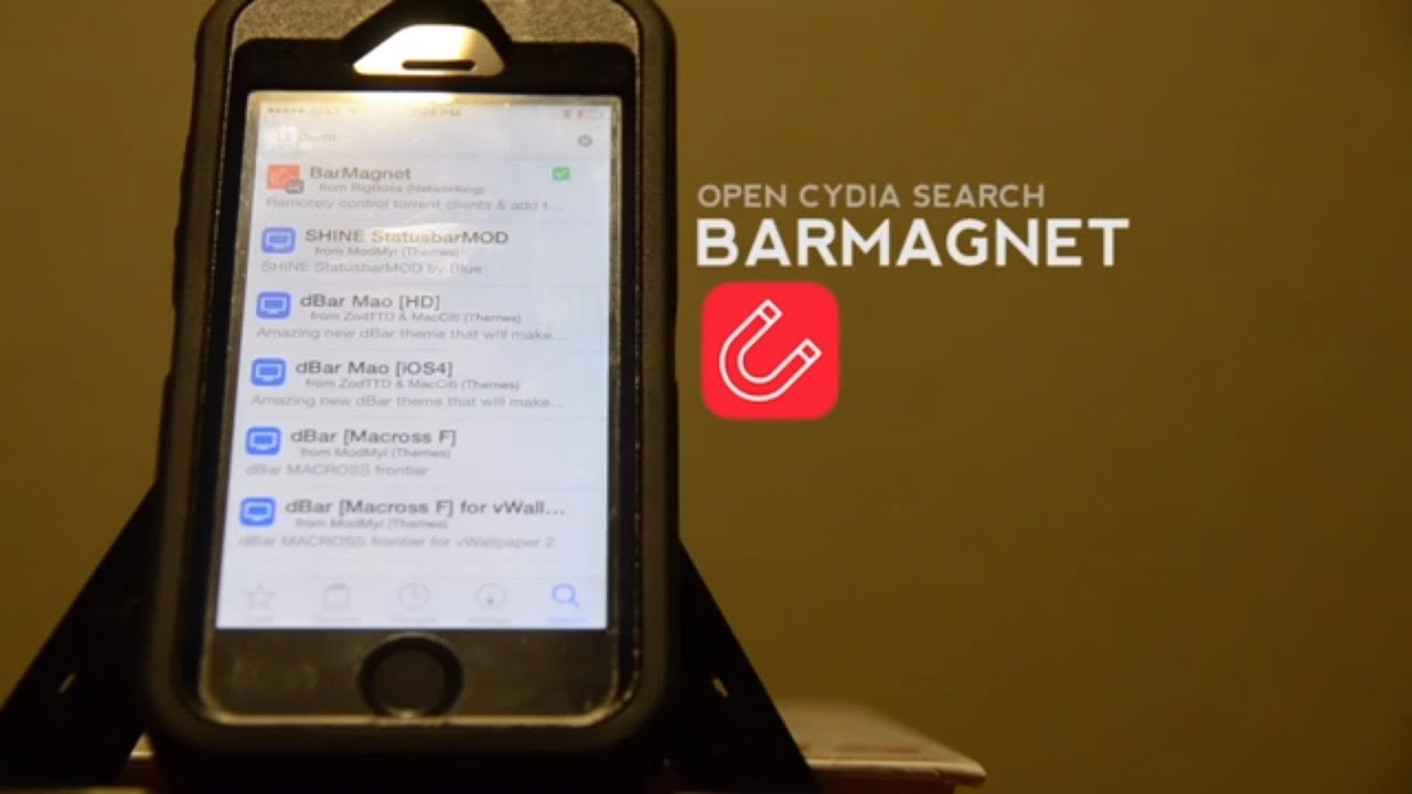 How To: Setup the jailbreak app BarMagnet [updated] – Bryce