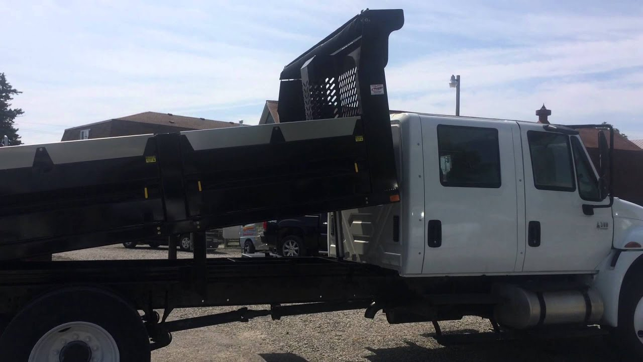 For Sale 2005 International 4300 Crew Cab Dump Truck