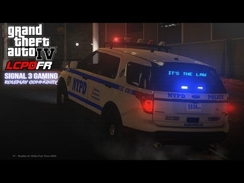 GTA 4 LCPDFR Multiplayer Roleplay | Signal 3 Gaming NYPD | Emergency Services Unit!