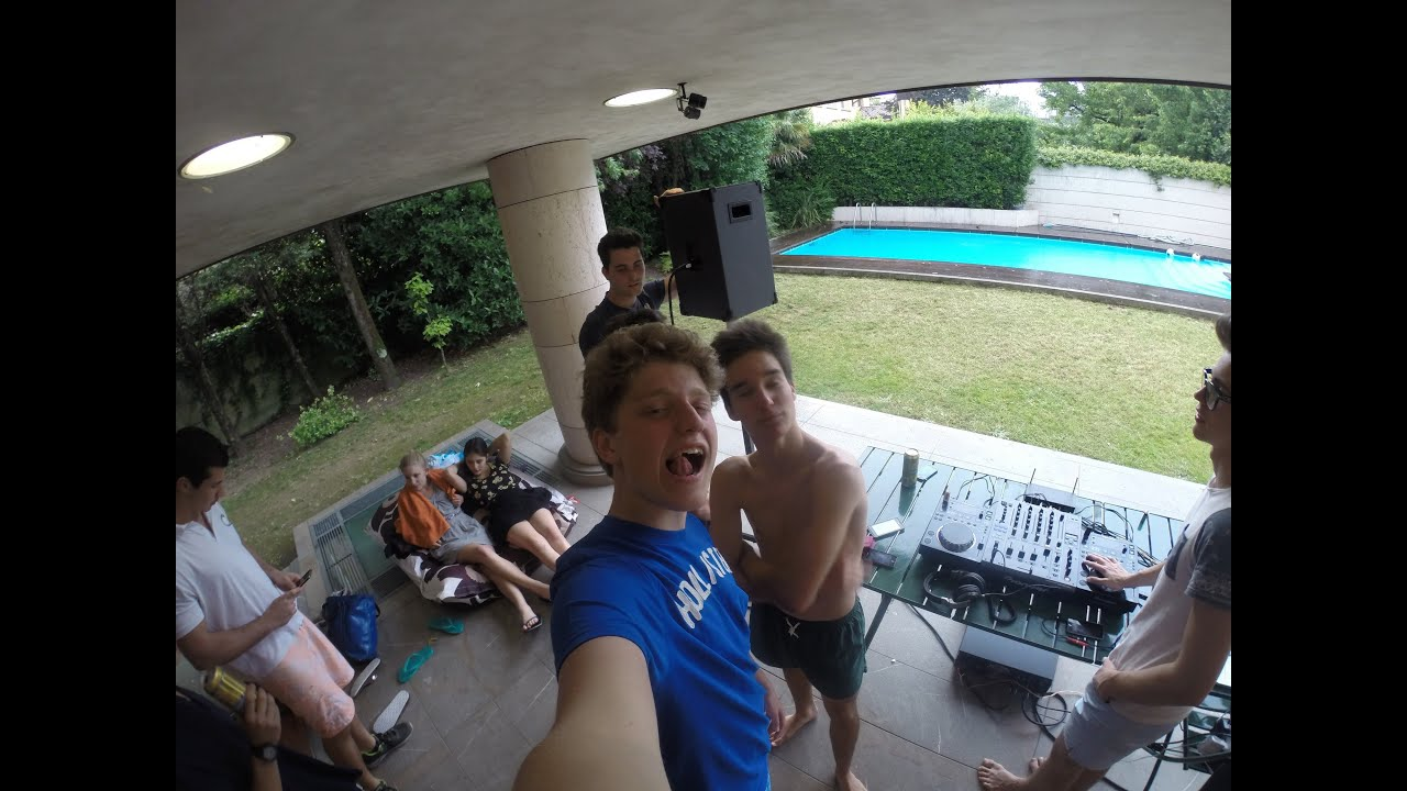 Epic pool party gopro 3 youtube for Epic pool show