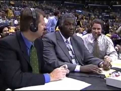 2003 Minnesota Timberwolves vs Los Angeles Lakers. Game 6