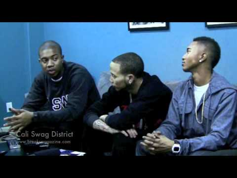 BREAKS MAG Interviews: Cali Swag District Part 1 (( RIP M-Bone ))