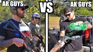 AR Guys vs AK Guys... but for real