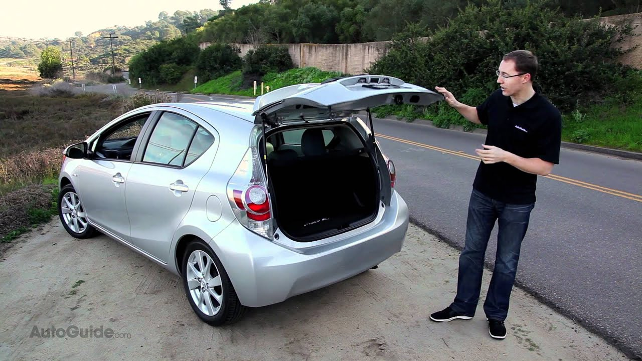 2012 Toyota Prius C Review Youtube