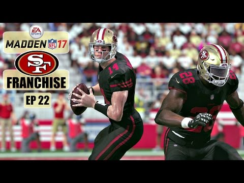 Madden NFL 17 San Francisco 49ers Franchise - EP22 (Year 2, Week 4 vs Jaguars)