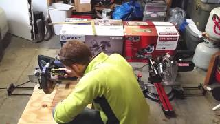 "Review Comparing Kobalt 10"" Sliding Miter Saw Vs Craftsman 10"" Compact Sliding Miter Saw"