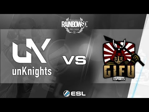 Rainbow Six Pro League - Season 2 - PC - EU - unKnights vs. Gifu - Week 2
