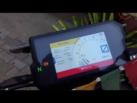 KTM DUKE 390  2017 .ABS failure/HLU error/ECU Failure/Gear indicator Problems Of 2017 KTM DUKE 390