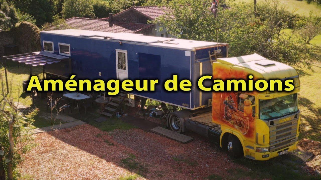AMÉNAGEMENT CAMION ❗️ TRANSFORMATION CARAPACE 😮 ROUTIER VAN TOUR TRUCK AMÉNAGÉ - Voyage Voyages