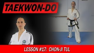 Chon-Ji Tul - Taekwon-Do Lesson #17