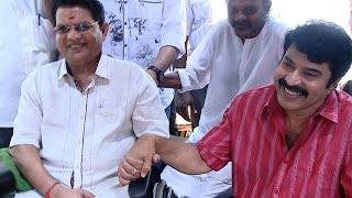 Mammoottys friendship brings Jagathy Sreekumar to Utopiayile Rajavu set