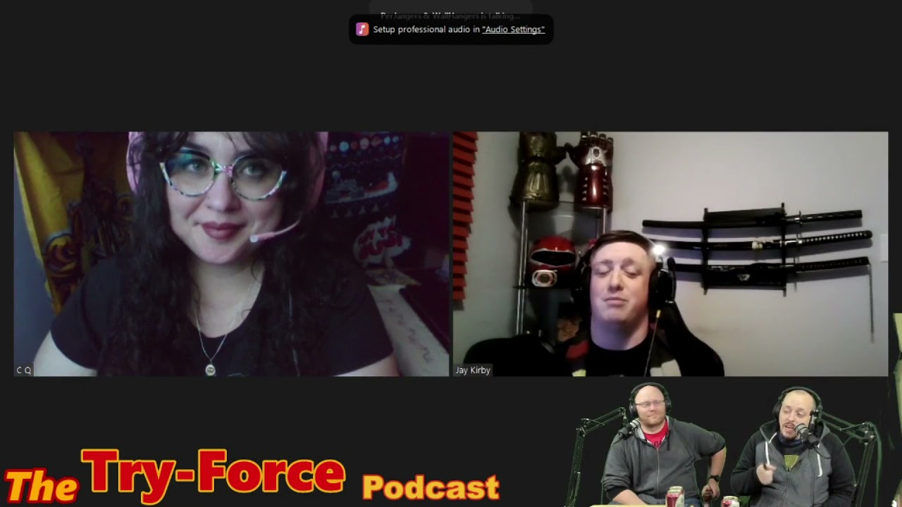 #206 Try-Force Podcast: Special K Drama Fallout Struggles With Jay Kirby!