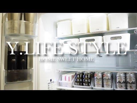 【キッチン】モノトーンマニアの冷蔵庫の中身と野菜の保存方法