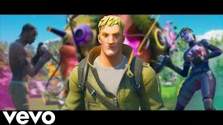 """THE BOTS - (Official Music Video) A Fortnite Parody Of """"The Scotts"""" by Travis Scott"""