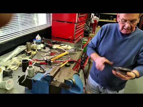 Differential Rebuild Part 1- Pinion Rolls Royce Silver Cloud 3