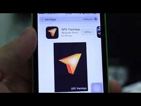 วิธีการใช้งาน TrackApp เพื่อติดตามตำแหน่งจากมือถือ