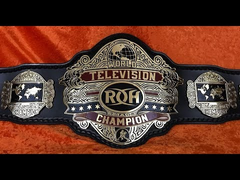 NEW ROH World Television/ Tag Team / 6 Man Tag Team Championship Title Belt Review!