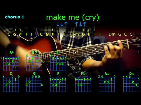 make me cry noah cyrus guitar chords