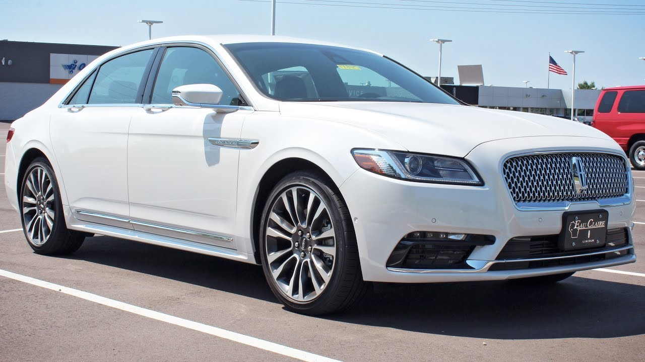 2017 Lincoln Continental Select 2 7l Gtdi At Eau Claire Ford Quick Lane