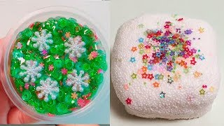 The Most Satisfying Slime Videos  Relaxing Slime ASMR Compilation