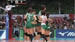 Kim Yeon-Koung - 2009/2010 JAPAN V-League JT vs DENSO(100123)