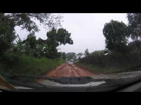 Uganda - Entebbe to Kampala, off the main road on route to Hospital