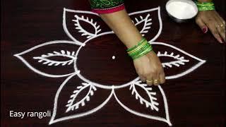 latest  rangoli designs  for navarathri festival - vijaya dasami kolam designs - dasara muggulu