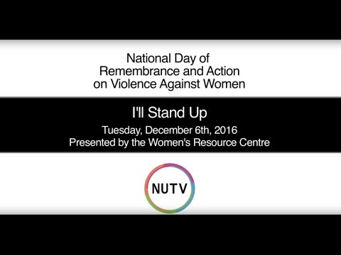 I'll Stand Up: National Day of Remembrance and Action on Violence Against Women