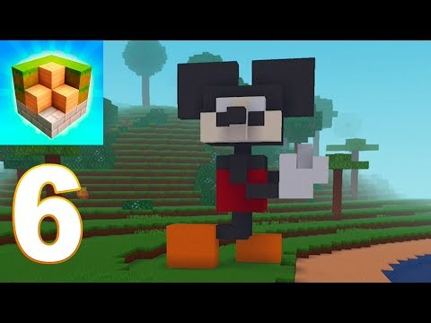 Block Craft 3D City Building Simulator - Mickey Mouse Gameplay Walkthrough Part 6 (iOS, android) - 동영상