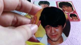 野村義男(ヨッちゃん)のアイドル時代のシールを紹介します♪ 他にもい...