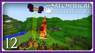 Alchemical Architecture | Magmatic Smeltery & Sun Ray Absorber! | E12 (Magic Modpack Lets Play)