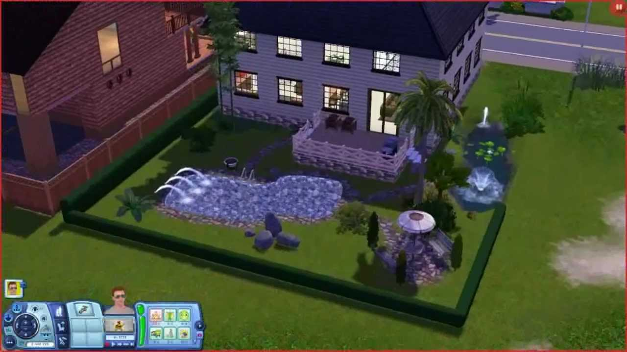 sims 3 family home building a house hd youtube