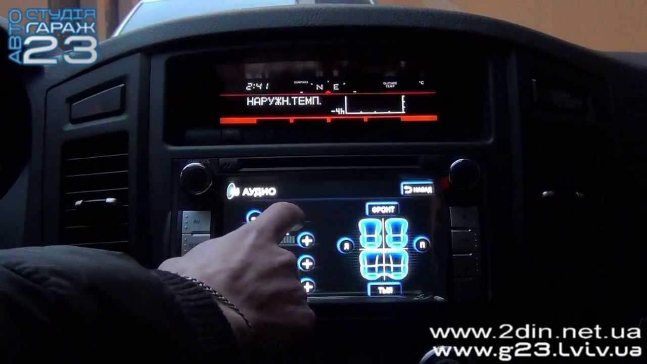 Салон чехлы для Mitsubishi Pajero Vagon 4 - YouTube