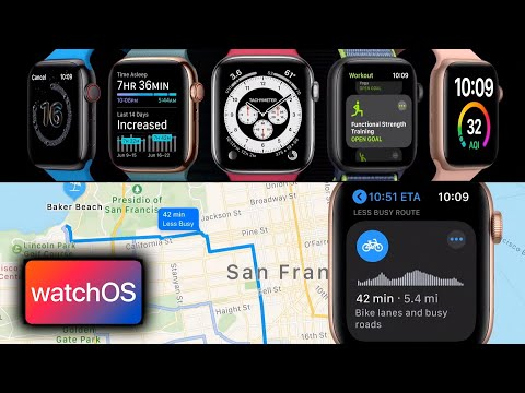 watchOS 7 announcement in 7 minutes