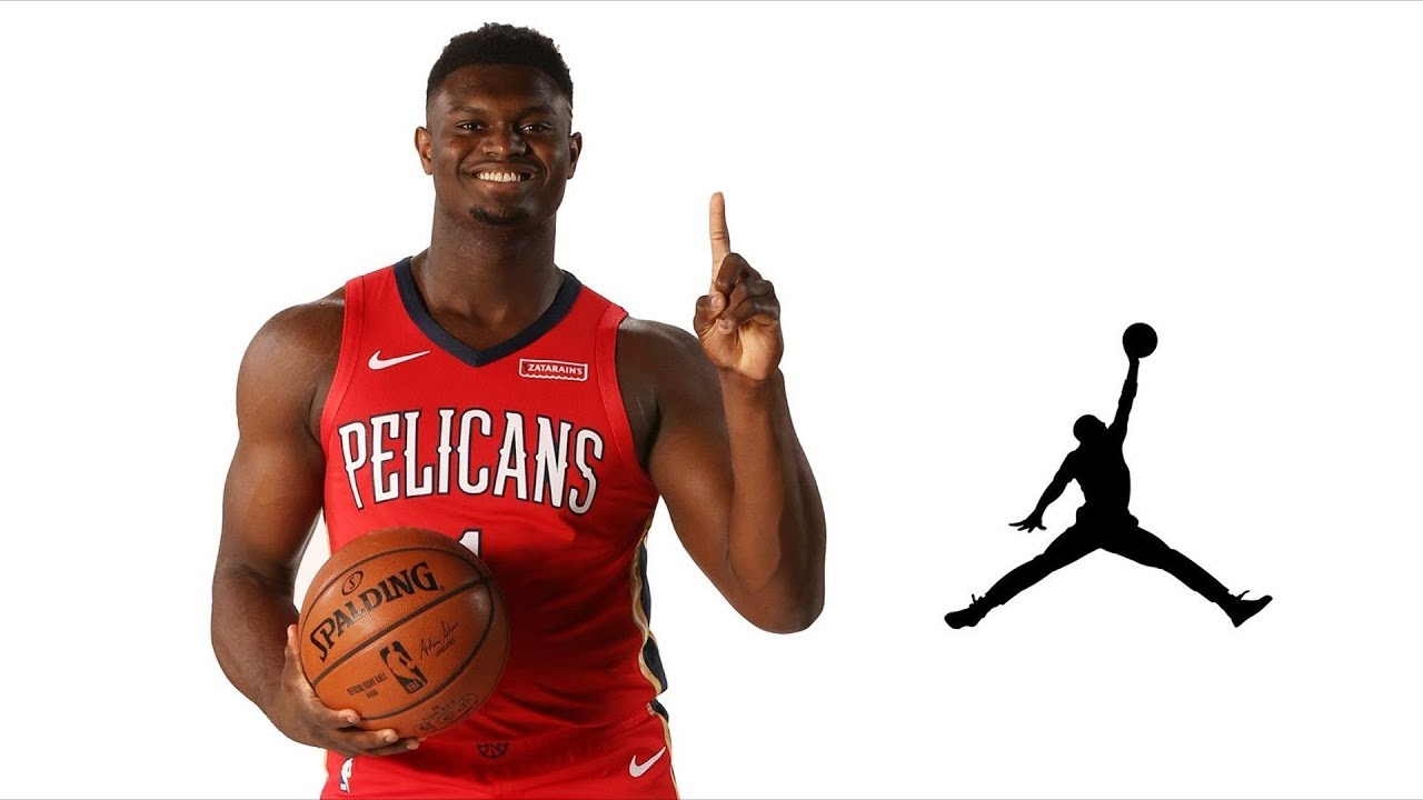 Zion Williamson Signs With Jordan
