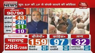 Haryana Results : बीजेपी का नारा था 75 पार इस बार, लेकिन पिछली बार से भी पिछड़े इस बार ?