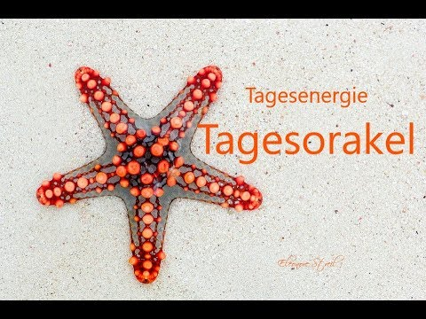 Tagesenergie - Donnerstag 18.07.2019