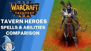 Tavern Heroes Models Comparison (Reforged vs Classic) | Warcraft 3 Reforged Beta