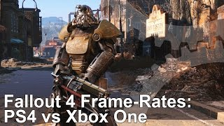 Fallout 4 PS4 vs Xbox One Frame-Rate Test