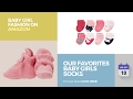 Our Favorites Baby Girls Socks Collection Baby Girl Fashion On Amazon