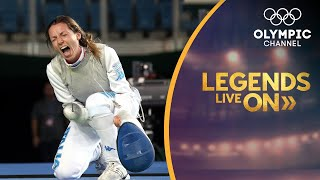 Valentina Vezzali's Journey from Fencer, to Politician, to Mentor | Legends Live On