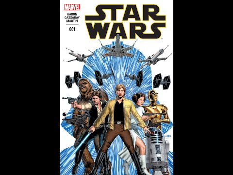 Scotty D's Star Wars Comic Book Pull #9 (The NEW Marvel Star Wars #001)
