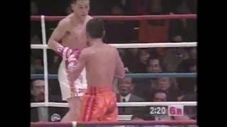 WBC世界Jバンタム級TM  川島郭志VSジェリーペニャロサ