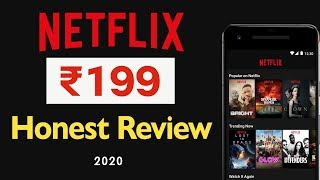 #Netflix 199 Plan Honest Review | Netflix Mobile Plan Good or Bad